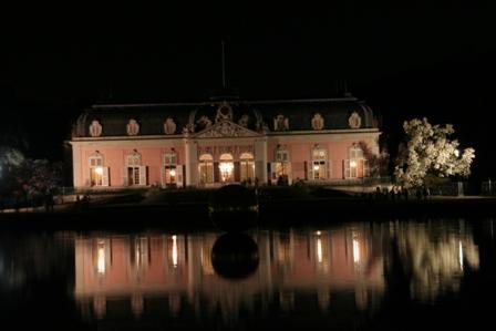 Schloss Benrath - total