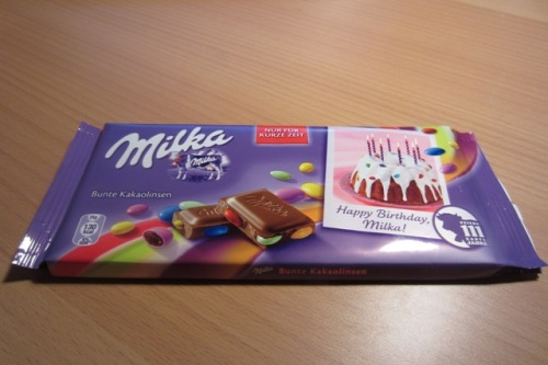 Milka-Bunte Kakaolinsen