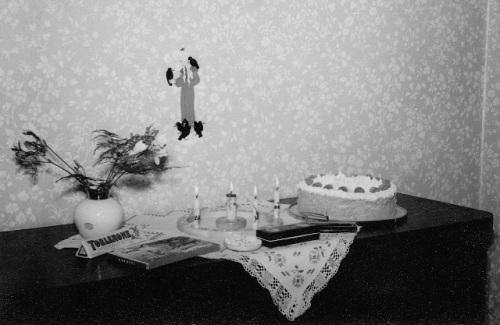 Geburtstagstisch 1958