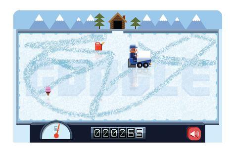 Google-Doodle am 16.1.2013