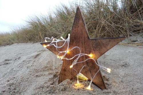 Stern im Sand