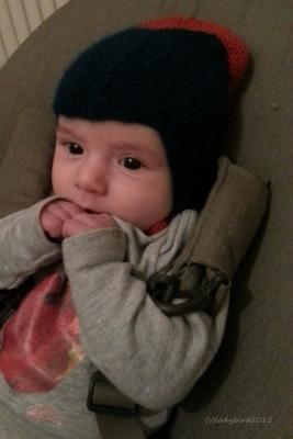 Lieblingsbaby mit Mütze