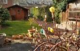 Gartenblick 20. März