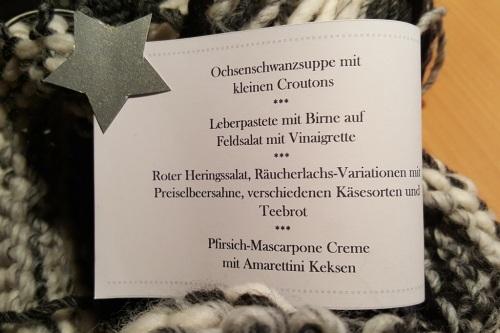 weihnachts-menu
