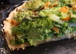 Gemüsequiche - Innenansicht
